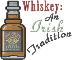 Irish Tradition embroidery design