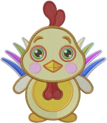 Baby Chicken embroidery design