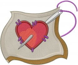 Love Sewing embroidery design