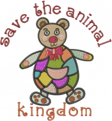 Save Kingdom embroidery design