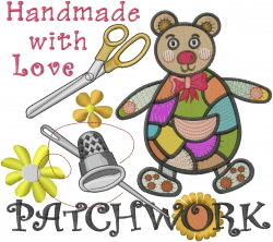 Patchwork Handmade embroidery design