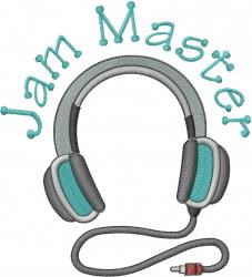 Jam Master embroidery design