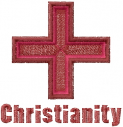 Christianity embroidery design