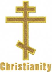 Orthodox Cross embroidery design