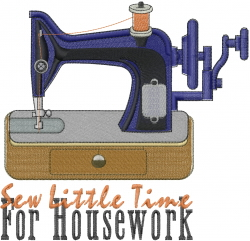Sew Little Time embroidery design