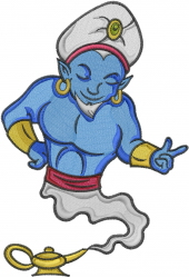 Magic Genie embroidery design
