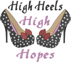 High Hopes embroidery design