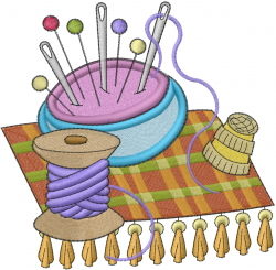 Sewing Supplies embroidery design