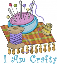 Sewing Supplies_I Am Crafty_ embroidery design