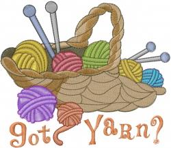 Got Yarn embroidery design