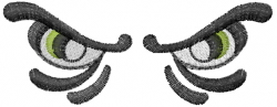 Halloween Eyes embroidery design