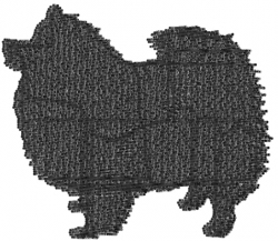 American Chow Chow embroidery design