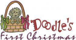 Doodles Christmas embroidery design