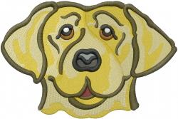 Labrador Head embroidery design