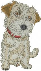 Jack Dog embroidery design