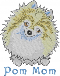 Pom Mom embroidery design