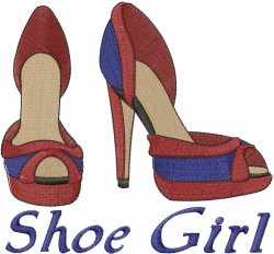 shoes embroidery machine