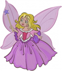Fairy Princess embroidery design