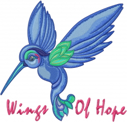 Wings Of Hope embroidery design
