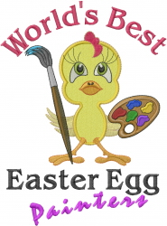 Best Easter Egg Painter embroidery design