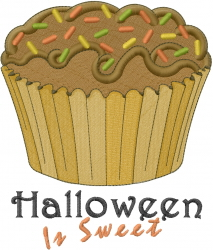 Halloween Is Sweet embroidery design