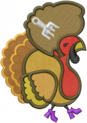 Jive Turkey embroidery design