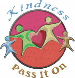 Act of Kindness_Kindness Pass It On_ embroidery design