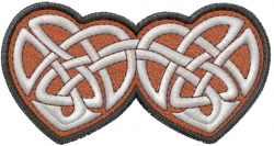 Celtic Love connection_ embroidery design