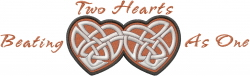 Celtic Love connection_Two Hearts Beating As_ embroidery design