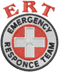 ERT Logo embroidery design