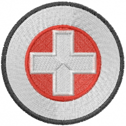 Emergency Response embroidery design