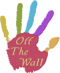 Off The Wall embroidery design