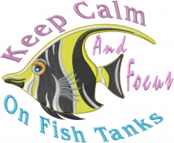 Fish Tanks embroidery design
