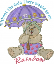 Without The Rain embroidery design