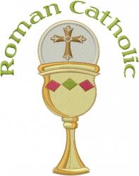 Roman Catholic Chalice embroidery design