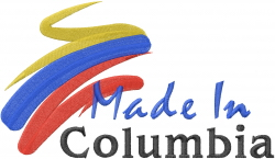 Made In Columbia embroidery design