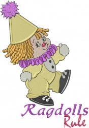 Ragdolls Rule embroidery design