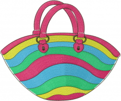 Beach Bag embroidery design