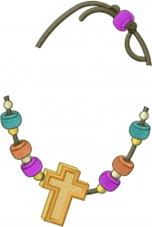 Cross & Beads Accessory embroidery design
