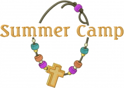 Religious Summer Camp Accessory embroidery design