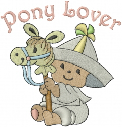Sailor Baby - Pony Lover embroidery design