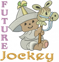 Sailor Baby - Future Jockey embroidery design