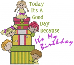 Kids Gifts embroidery design