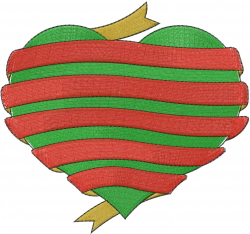 Love Christmas embroidery design