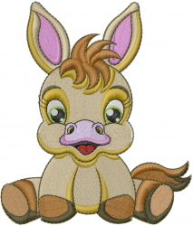 Baby Horse embroidery design