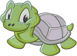 Baby Turtle embroidery design