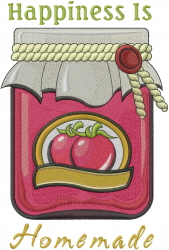 Tomato Preserves embroidery design