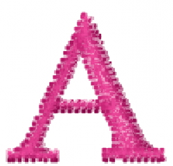 Greek Letter A embroidery design