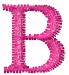 Greek Letter B embroidery design