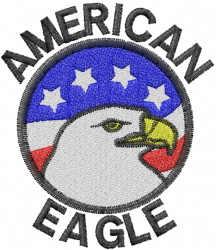 American Eagle Embroidery Designs Machine Embroidery